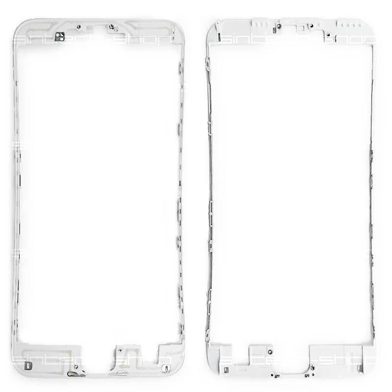 """iPhone 6S PLUS (5,5"""") bílý - čelní rámeček skla"""