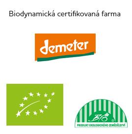 Biobynamická certifikovaná farma