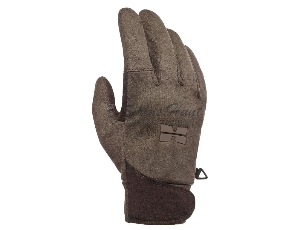 vyr 1296Hillman Waterproof Gloves lovecke rukavice b Dub