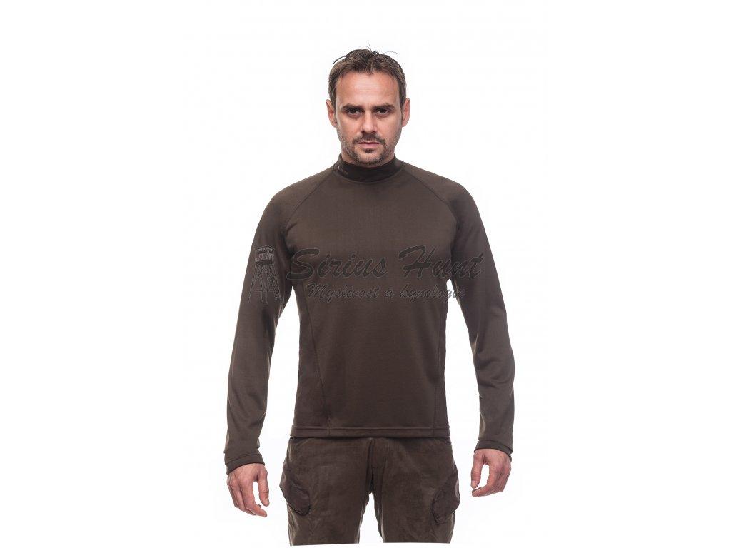 17187 1293 vyr 1291T shirt Long Sleeve tricko s dlouhym rukavem b Dub