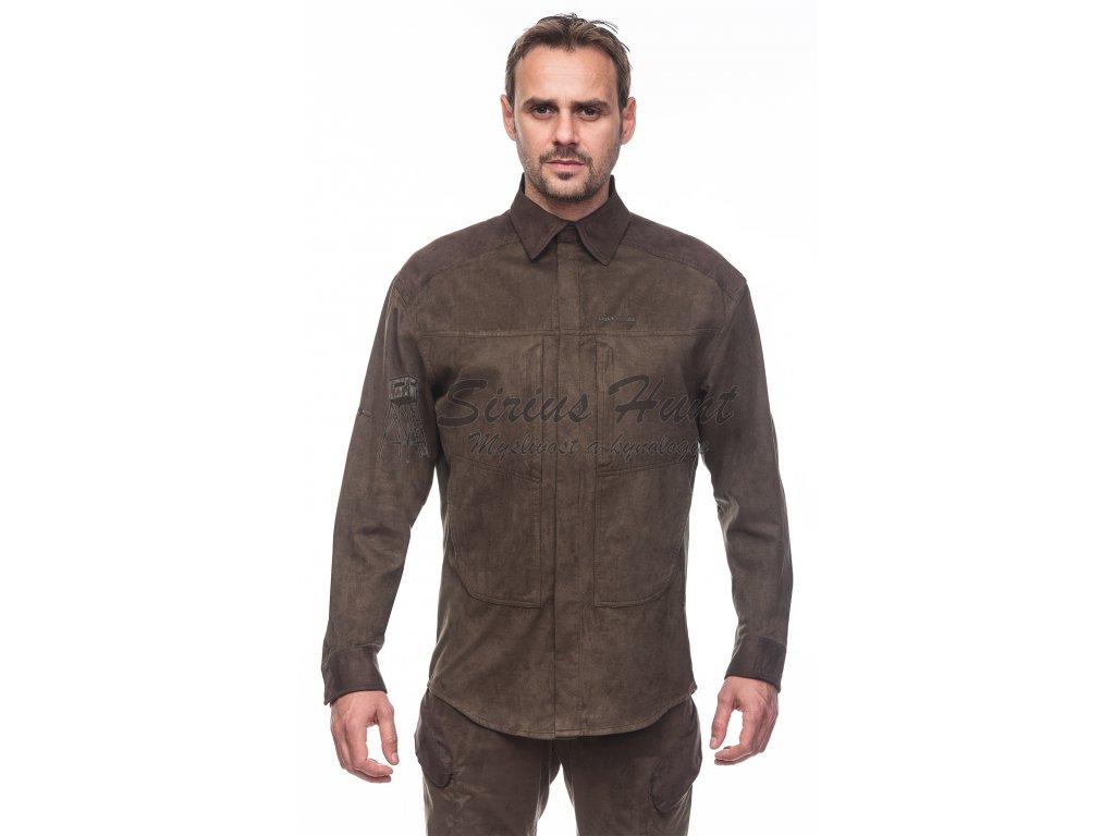 vyr 1229XPR Shirt Magnetic myslivecka kosile b Dub