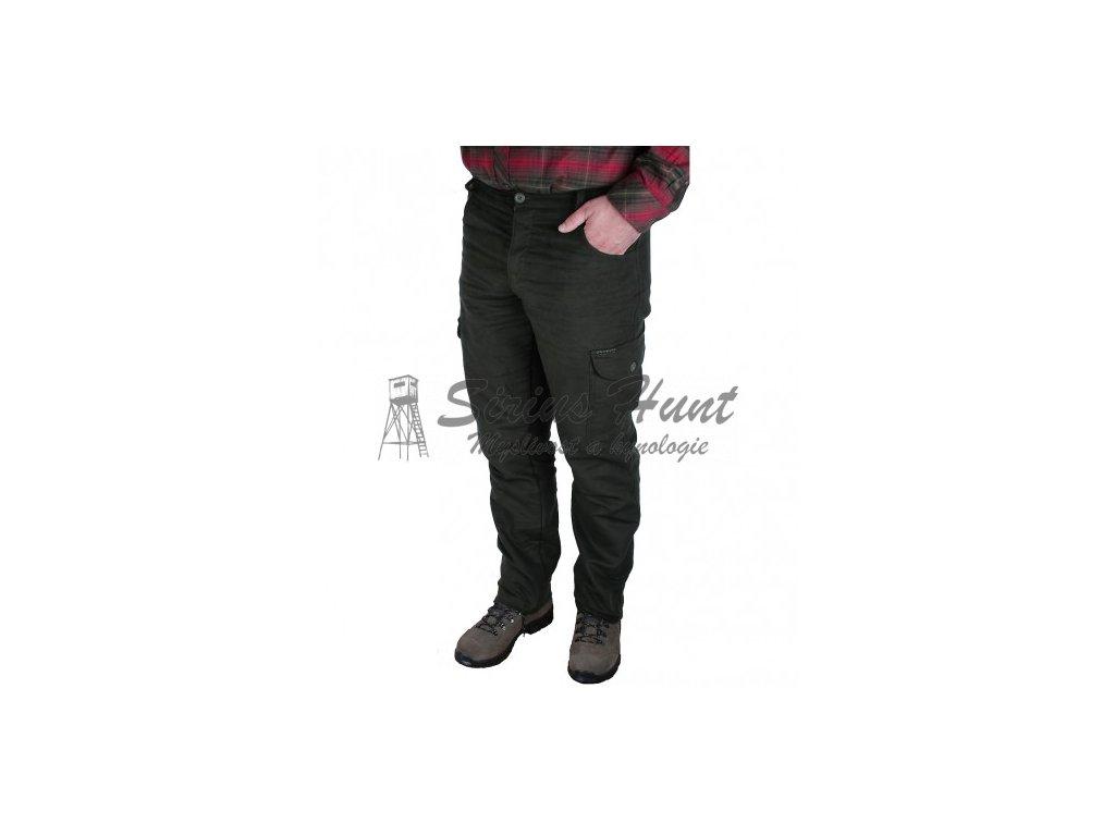lovecke kalhoty moleskin slim