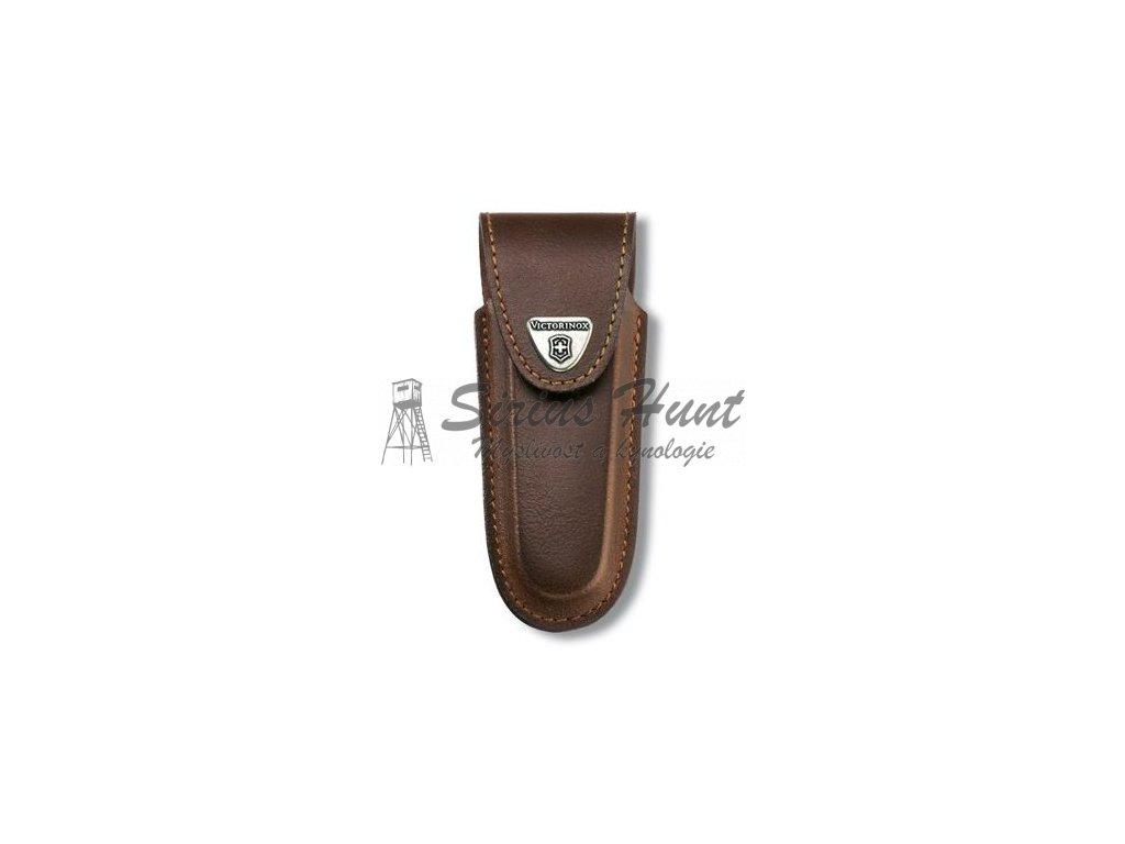 Pouzdro kožené na nůž 111mm 5-8 HNĚDÉ