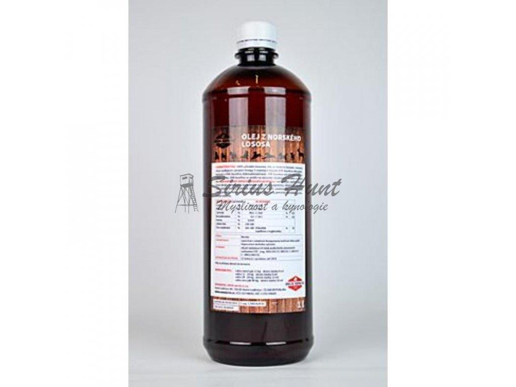 lososovy olej 100 pes 1000ml