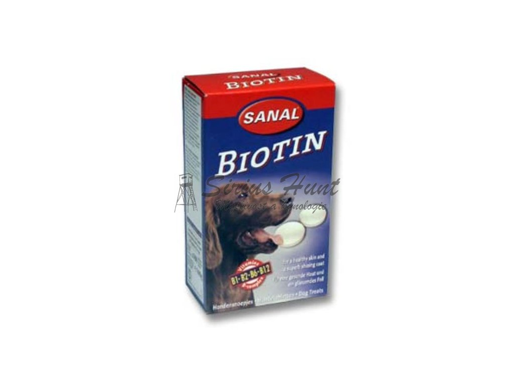 sanal pes biotin s vitamíny 100tbl
