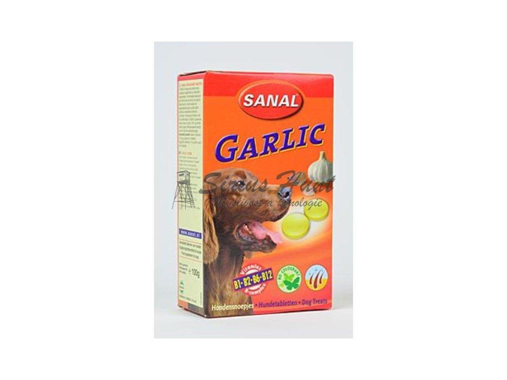 sanal pes garlic s česnekem a vitamíny 100tbl