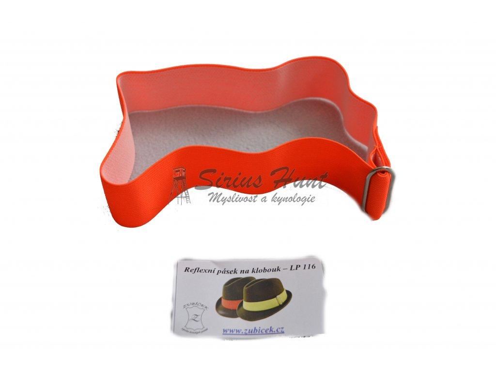 Reflexní páska na klobouk