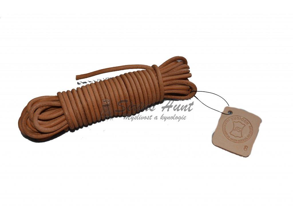 Barvářská šňůra kulatá 4 mm -  8 m
