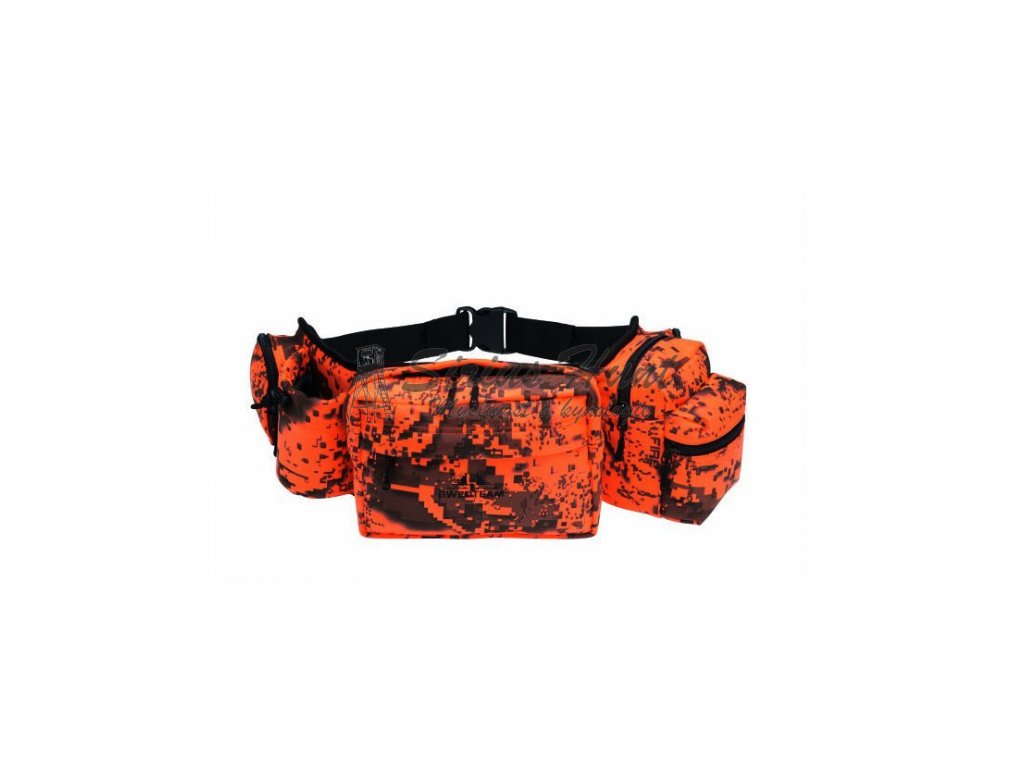 Swedteam Waistbag Camo Fire ledvinka