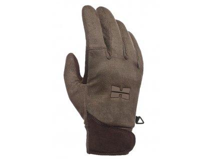 vyr 1296Hillman Waterproof Gloves lovecke rukavice b Dub