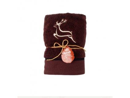 ručník jelen