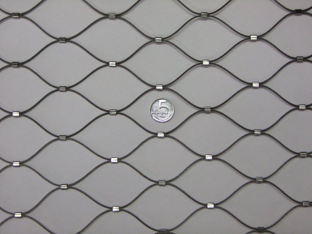 Nerezové sítě vlákno 1.6 mm oko 51 x 51mm cena za m2