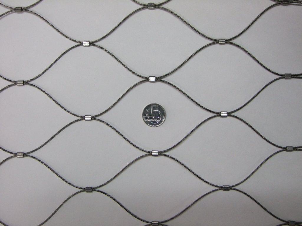 Nerezové sítě vlákno 1.6 mm oko 75 x 75 mm cena za m2