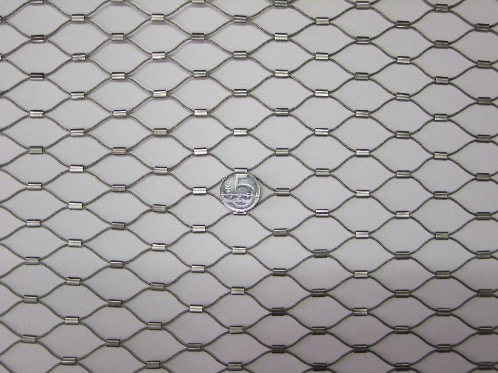 Nerezové sítě  vlákno 1.2 mm  oko 25 x 25 mm cena za m2