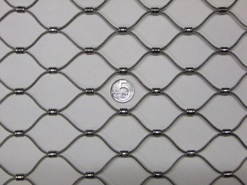 Nerezové sítě vlákno 2 mm oko 38 x 38 mm cena za m2