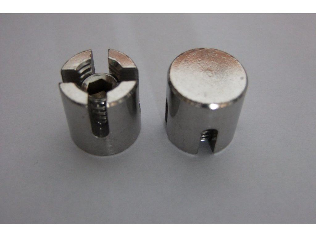 Nerezová spojka pro křížení lan 4 mm třída oceli 316 /A4
