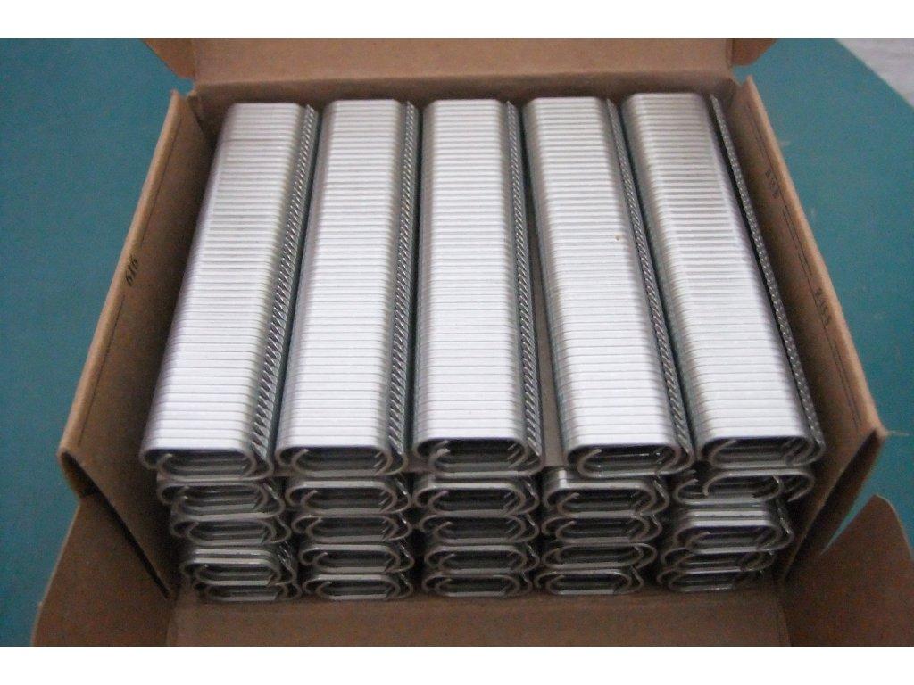 úponky pozinkované balení 2500 ks 0.31 Kč/ks