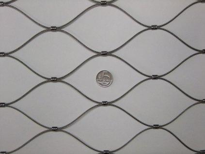 Nerezové sítě vlákno 2 mm oko 75 x 75 mm cena za m2