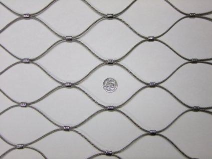 nerezové sítě vlákno 2.4 mm oko 75 x 75 mm cena za m2