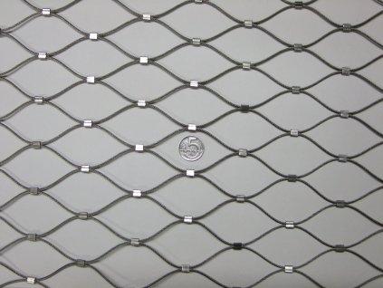Nerezové sítě vlákno 2 mm oko 51x 51 mm cena za m2