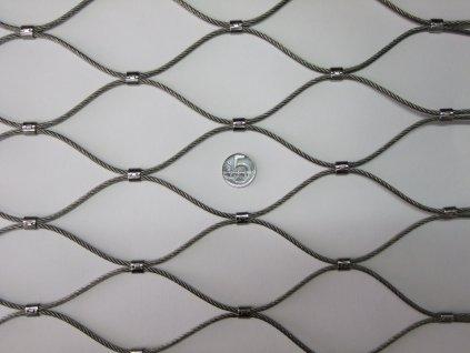 nerezové sítě vlákno 3.2 mm oko 75 x 75 mm cena za m2
