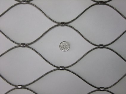 nerezové sítě vlákno 3.2 mm oko 100 x 100 mm cena za m2