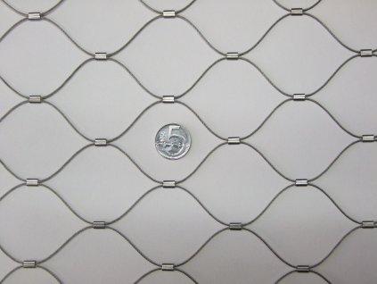 Nerezové sítě vlákno 1.2 mm oko 51 x51 mm cena za m2