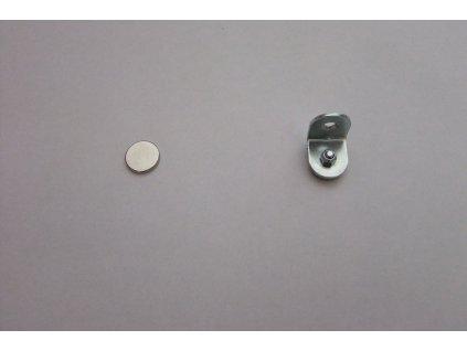 Magnetický úchyt dvojdílný pro nalepení