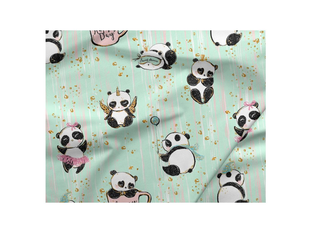 389 bavlneny saten pandy