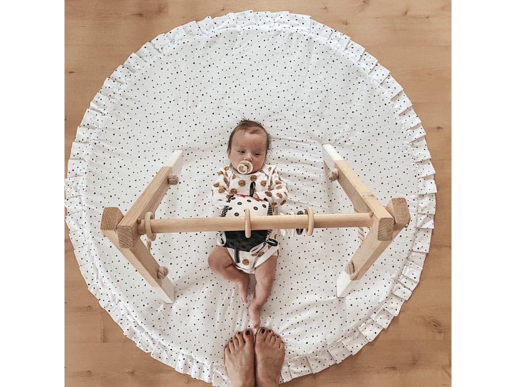 Dřevěná hrazda