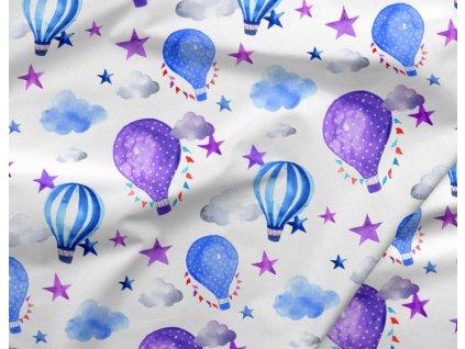 410 bavlneny saten balonky