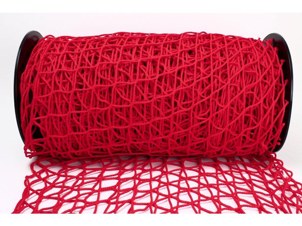 Ochranná síť - červená, oko 5x5cm