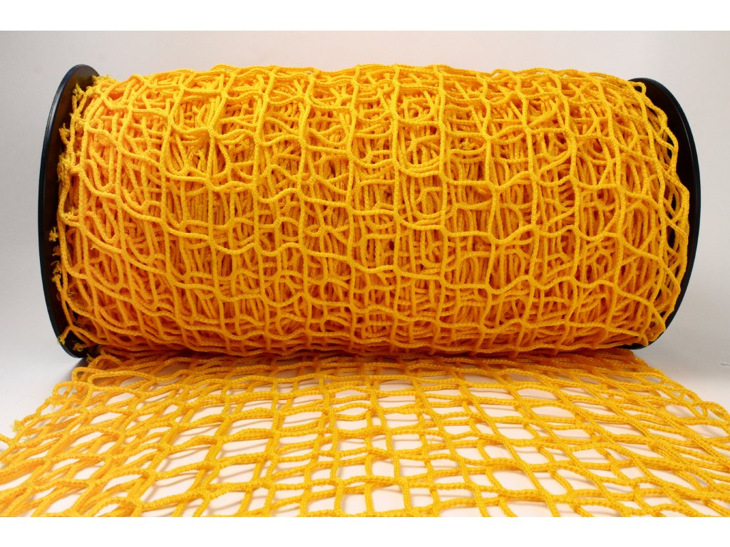Ochranná síť - žlutá, oko 5x5cm