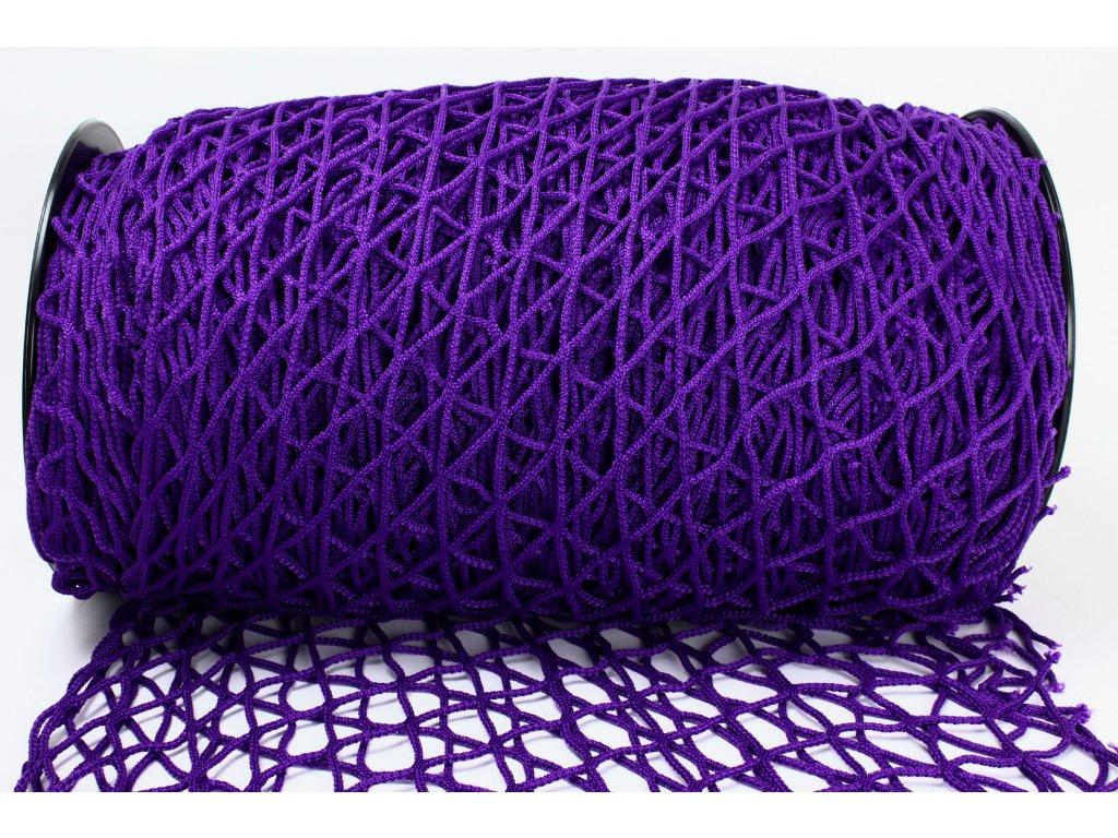 Ochranná síť - fialová, oko 5x5cm