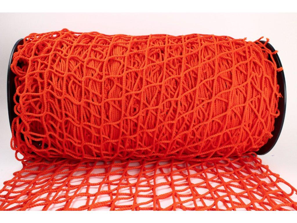 Ochranná síť - oranžová, oko 5x5cm