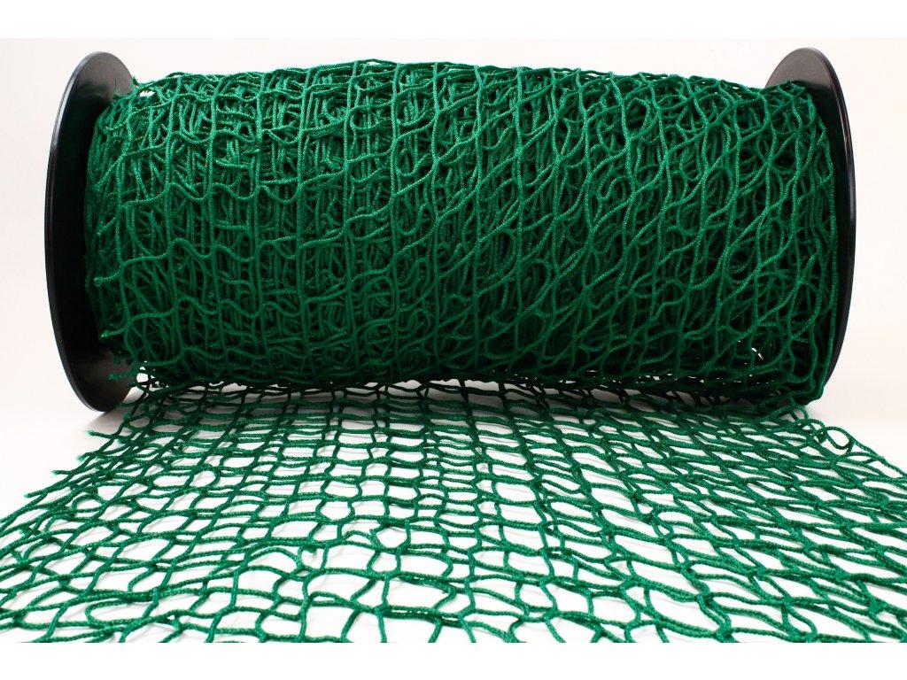 Ochranná síť - tmavě zelená, oko 5x5cm