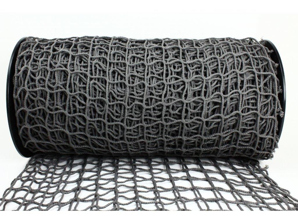 Ochranná síť - šedá, oko 5x5cm