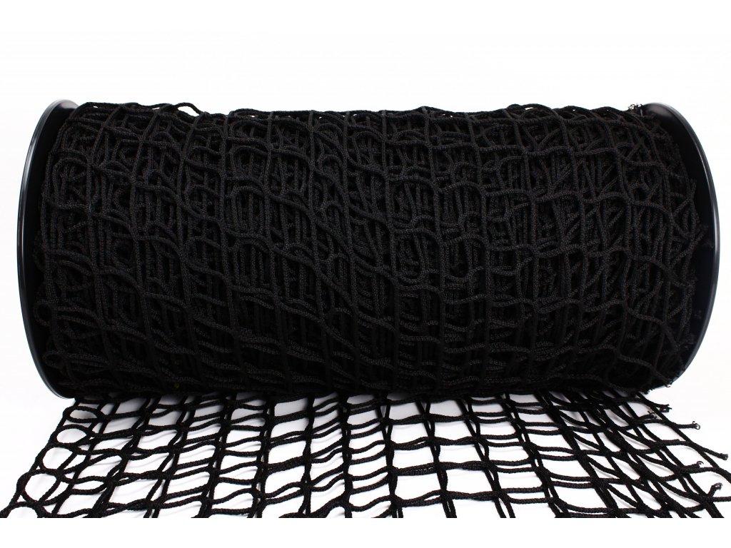 Ochranná síť - černá, 5x5cm