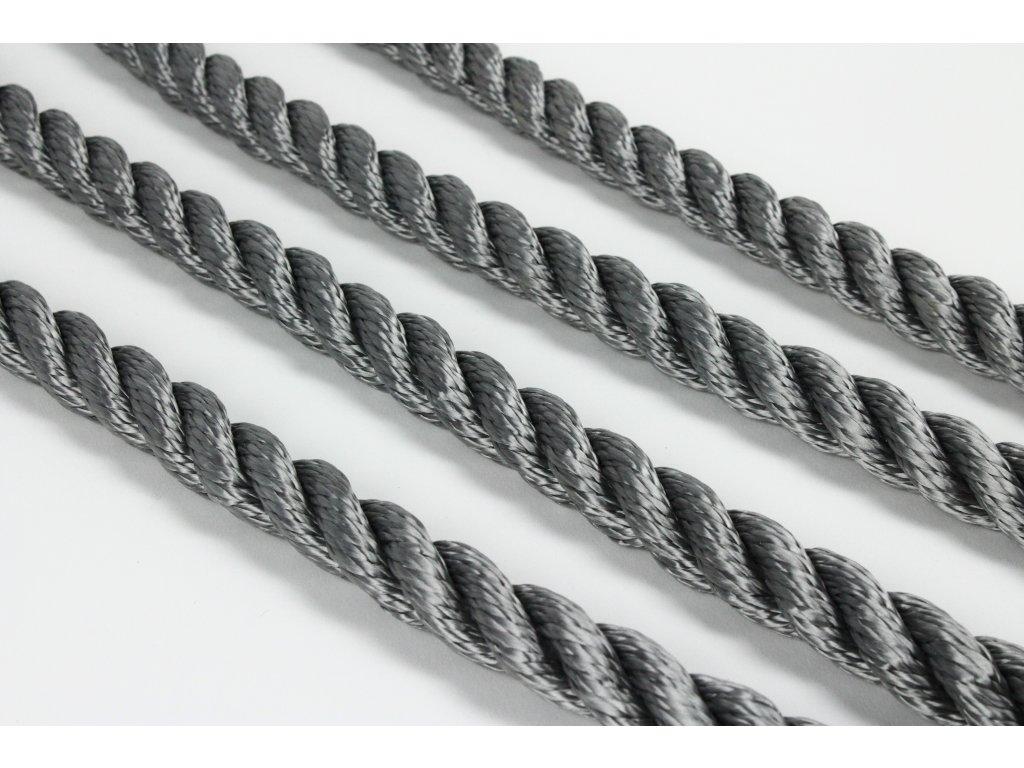 Lano SPP Twister - šedá