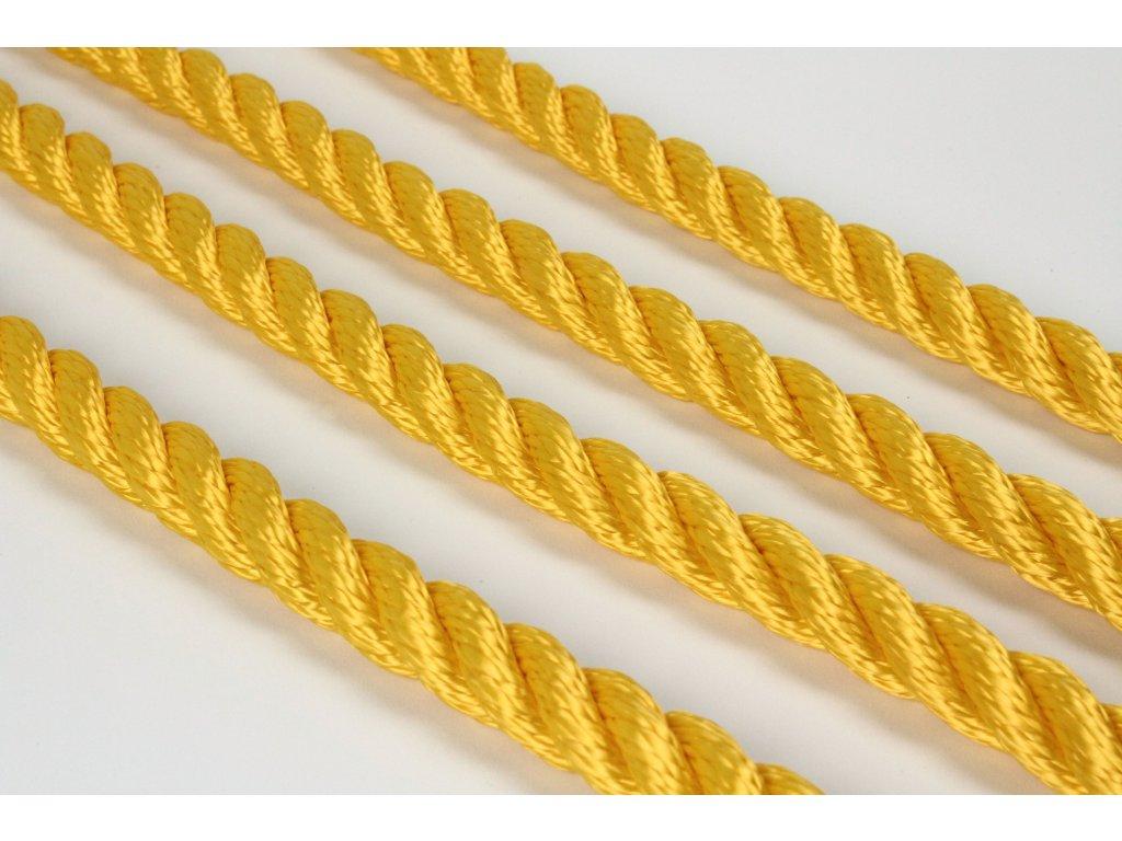 Lano SPP Twister - žlutá