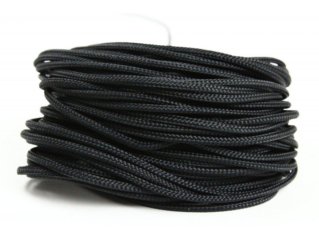 Sport šňůra PES - černá