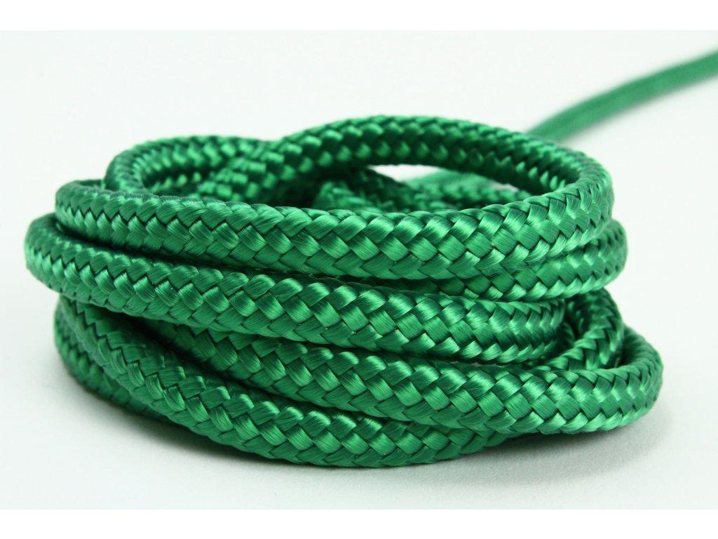 Sport šňůra PES - zelená