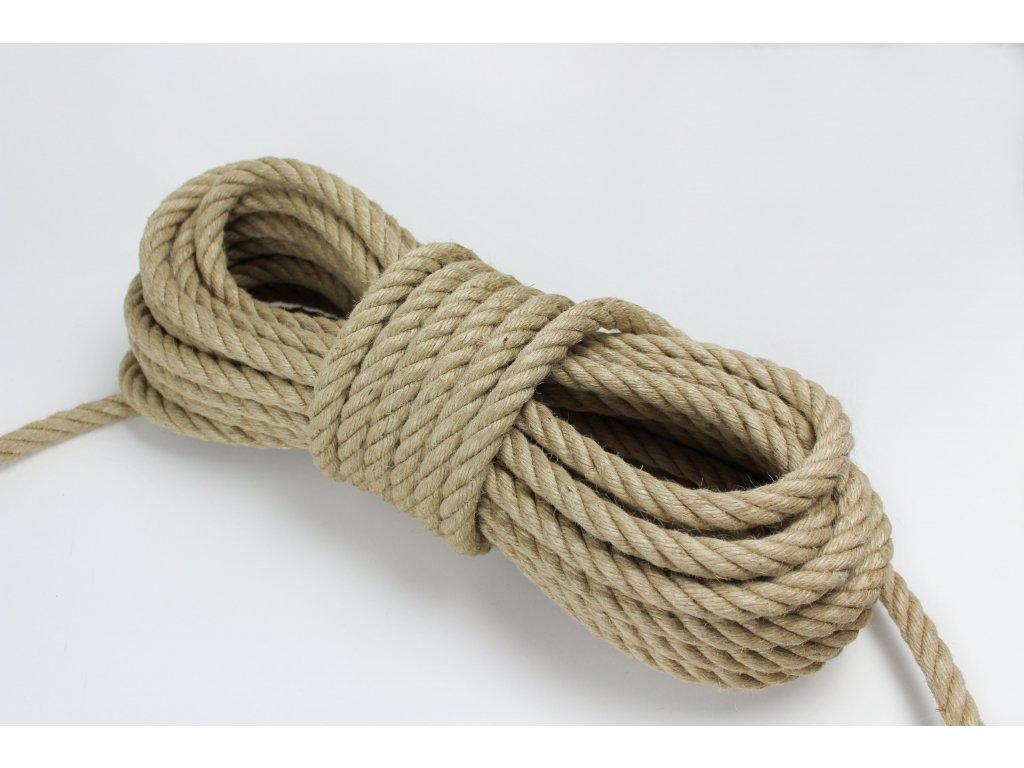 Stáčené lano Liána