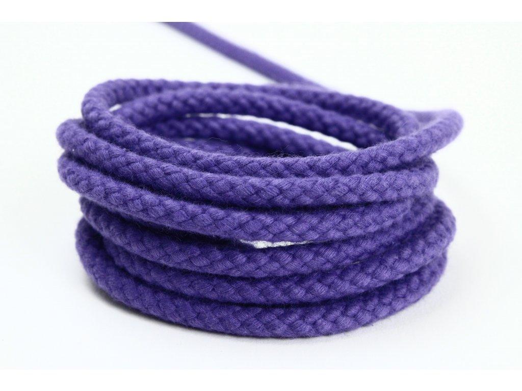 Tandem šňůra Velvetina - fialová
