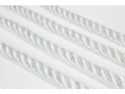 Stáčené lano SPP - bílá