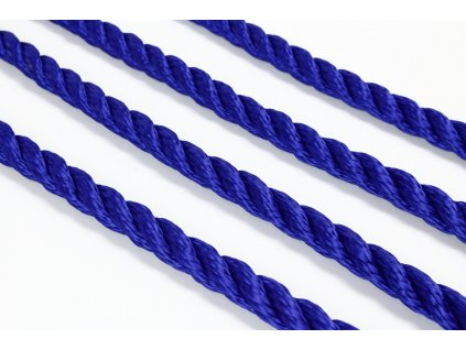 Stáčené lano SPP - modrá chrpa