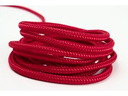 Sport šňůra PES - červená