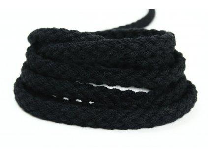 Tandem šňůra Velvetina - černá