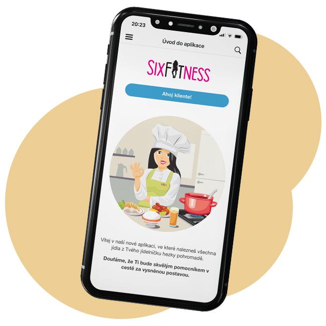 SixFitness - Aplikace s recepty