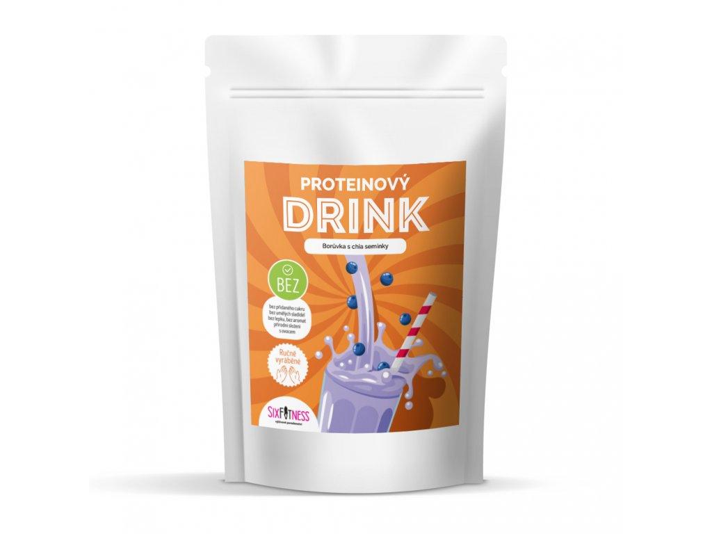 sixfitness protein drink boruvka